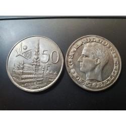 Belgija 50 frankų, 1958...