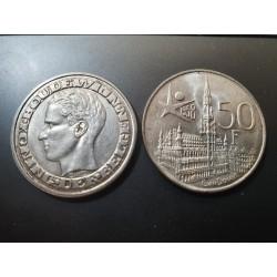 Belgija 50 frankų, 1958 Expo 58 - DER BELGEN