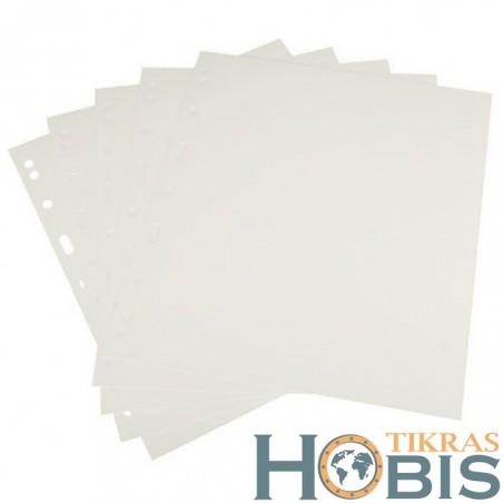 Tarplapiai B5 formato, balti
