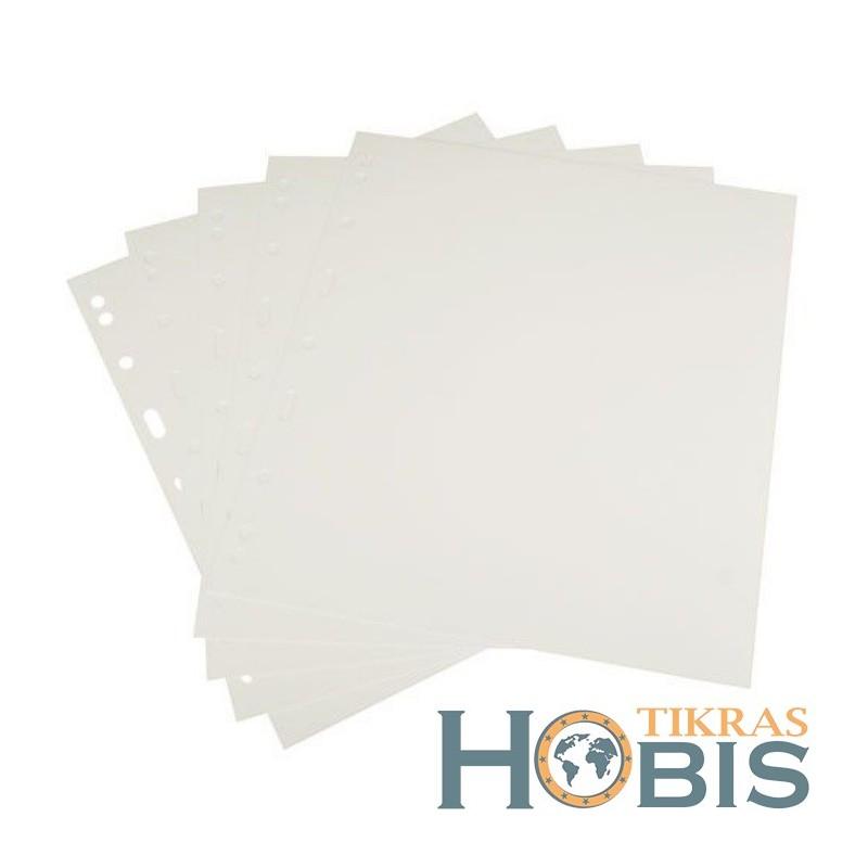 Tarplapiai A4 formato, balti