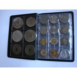 Albumas 108 monetoms, įvairias langeliais