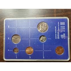 Nyderlandų guldenai ir centai 1982 metų - 5 vnt rinkinys