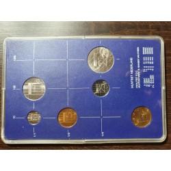 Nyderlandų guldenai ir centai 1986 metų - 5 vnt rinkinys
