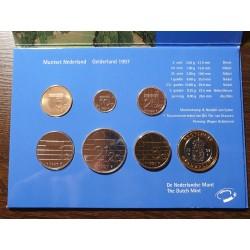 Nyderlandų guldenai ir centai 1996 metų - 6 vnt rinkinys
