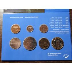 Nyderlandų guldenai ir centai 1998 metų - 6 vnt rinkinys
