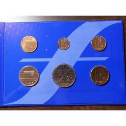 Nyderlandų guldenai ir centai 1999 metų - 6 vnt rinkinys