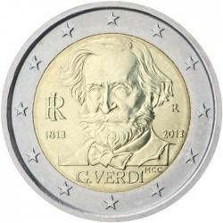 Italija 2 eurai, 2013 Giuseppe Verdi