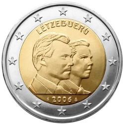 Liuksemburgas 2 eurai, 2006 25th Grand Duke Guillaume