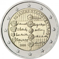 Austrija 2 eurai, 2005 50th State Treaty