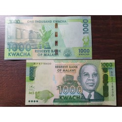 Malawi 1000 kwachas, 2017 P-68