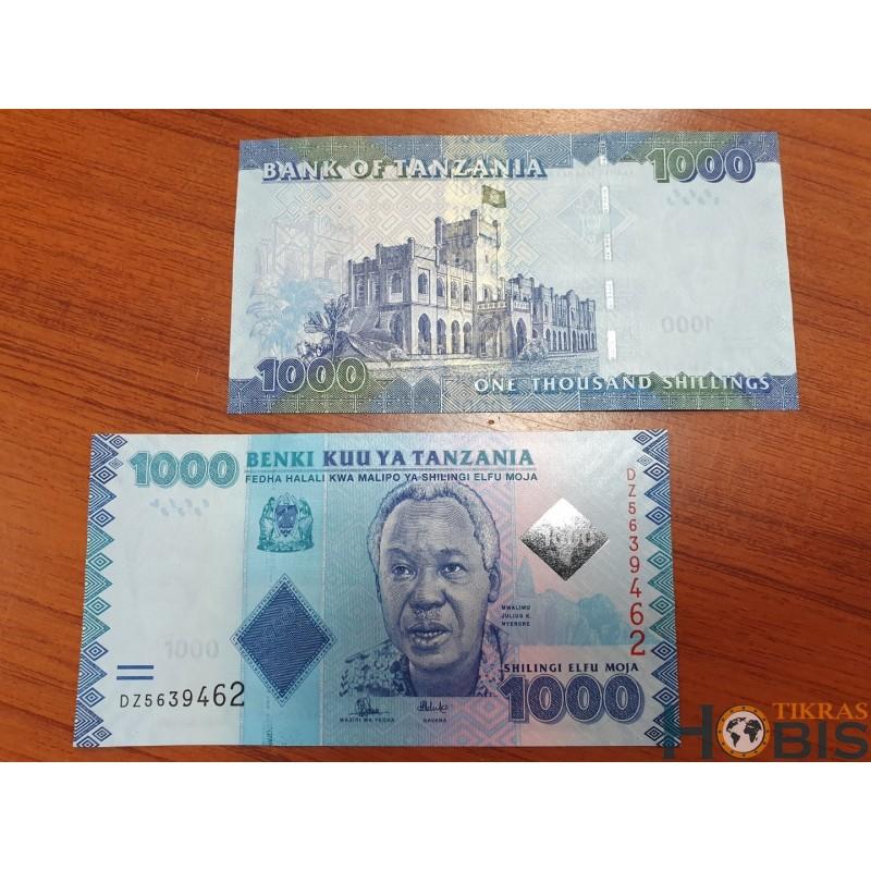 Tanzanija 1000 shilings , 2015 P-41b