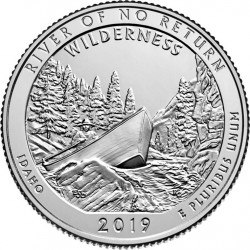 JAV 25 centai, 2019 River of No Return, Idaho