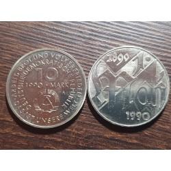 Vokietija - VDR 10 markių, 1990 100th Labor Day