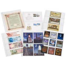 Įmautės banknotams Grande SH-312 A4 formato, Leuchtturm