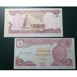 Iraq 1/2 dinar, 1993 P-78a