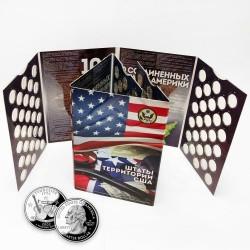 """Albumas JAV 1999-2009 ketvirčiams """"Valstijos"""""""
