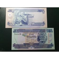 Solomon Islands 5 dollars,...