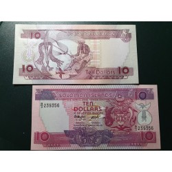 Solomon Islands 10 dollars,...