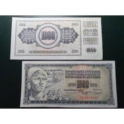 Jugoslavija 1000 dinarų, 1981 P-92d