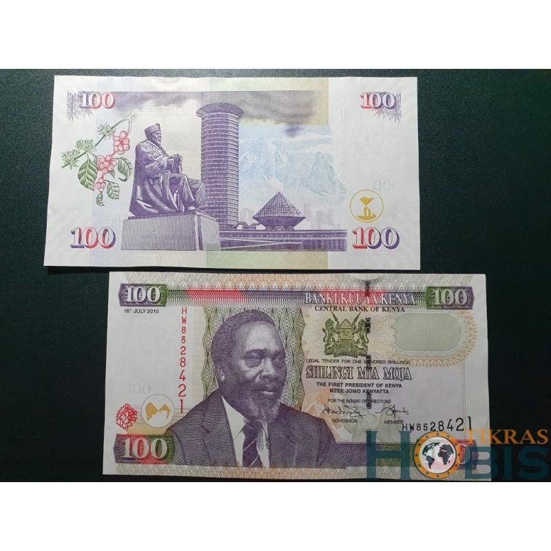 Kenija 100 šilingų, 2010 P-48e