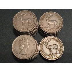 Mauritius 1/2 rupees,...