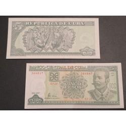 C 5 pesos, 2007 P-116j
