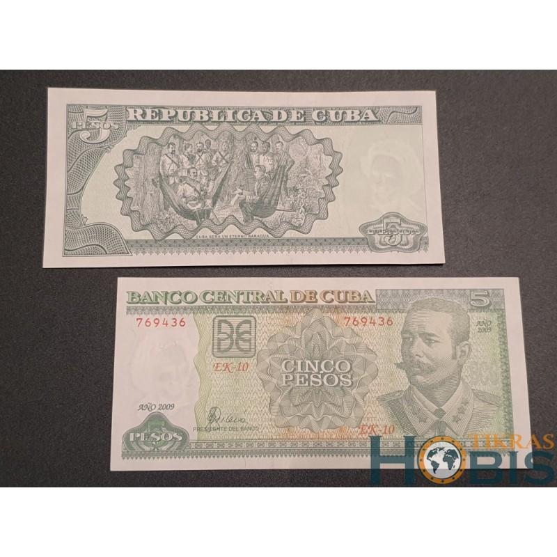 Kuba 5 pesos, 2009 P-116k