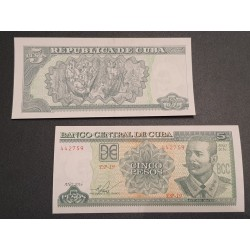 Kuba 5 pesos, 2016 P-116p