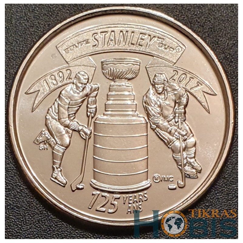 Kanada 25 centai, 2017 125th The Stanley Cup