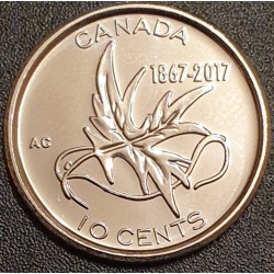 Canada 10 cents, 2017 150th...