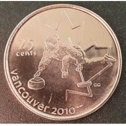 Kanada 25 centai, 2007 Curling