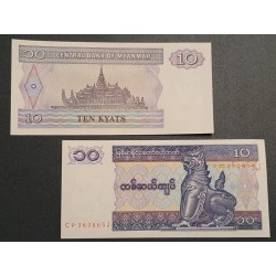 Myanmar (Burma) 10 Kyats,...