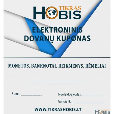 Tikras Hobis dovanų kuponas - ELEKTRONINIS