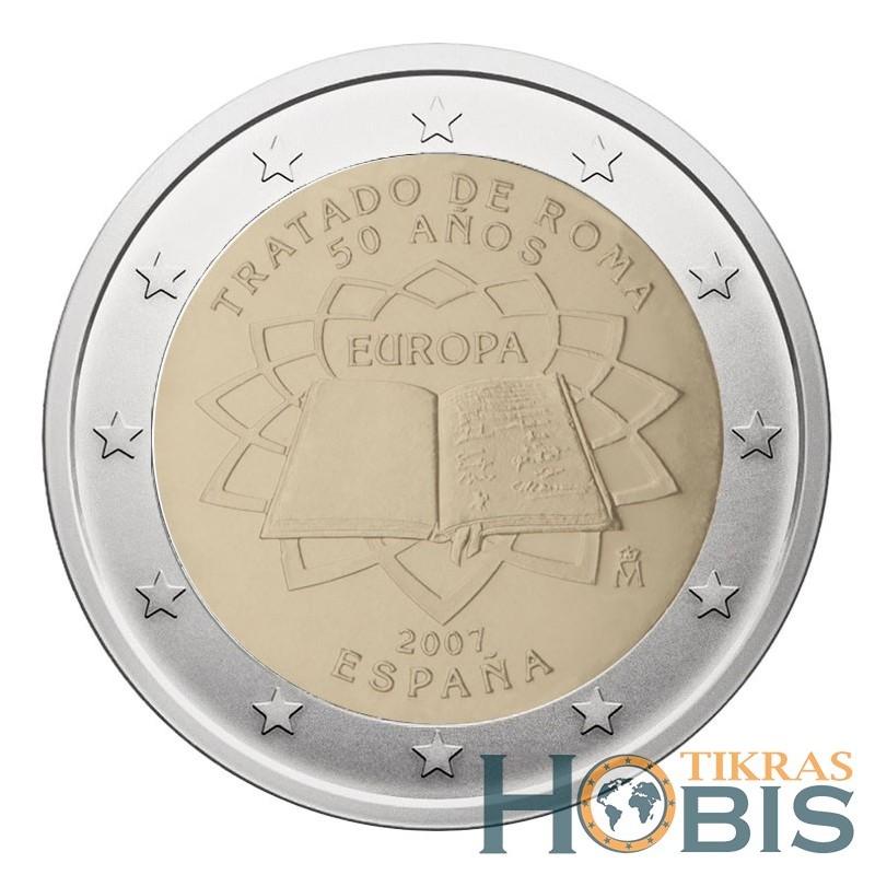 Ispanija 2 eurai, 2007 TOR