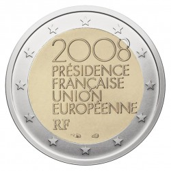 Prancūzija 2 eurai, 2008 European Union