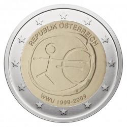 Austrija 2 eurai, 2009 EMU