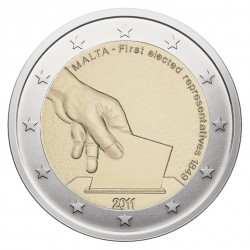 Malta 2 eurai, 2011 First Election Representatives 1849