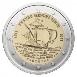 Portugalija 2 eurai, 2011 Fernao Mendes Pinto