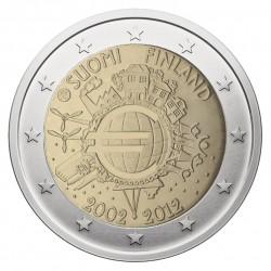 Suomija 2 eurai, 2012 Eurų banknotų ir monetų 10-metis