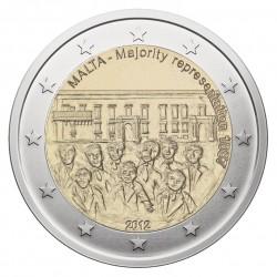 Malta 2 eurai, 2012 1887 Majority Representation
