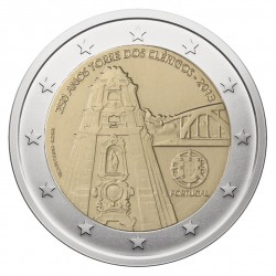 Portugalija 2 eurai, 2013 250th Oporto Clerigos Tower