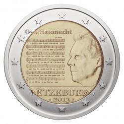 Liuksemburgas 2 eurai, 2013 National Anthem