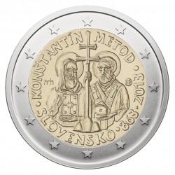 Slovakija 2 eurai, 2013 Mission Cyril and Methodius