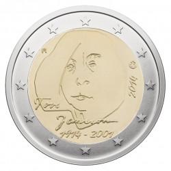 Suomija 2 eurai, 2014 100th Tove Jansson