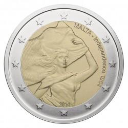 Malta 2 eurai, 2014 Independence of Malta