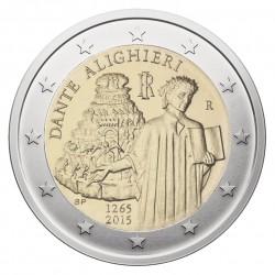Italija 2 eurai, 2015 750th Dante Alighieri