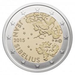 Suomija 2 eurai, 2015 Jano Sibelijaus 150