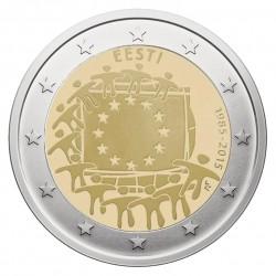 Estija 2 eurai, 2015 Europos Sąjungos vėliavos 30-metis
