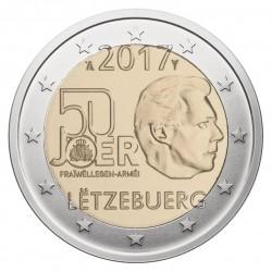 Liuksemburgas 2 eurai, 2017 Military Voluntary Service