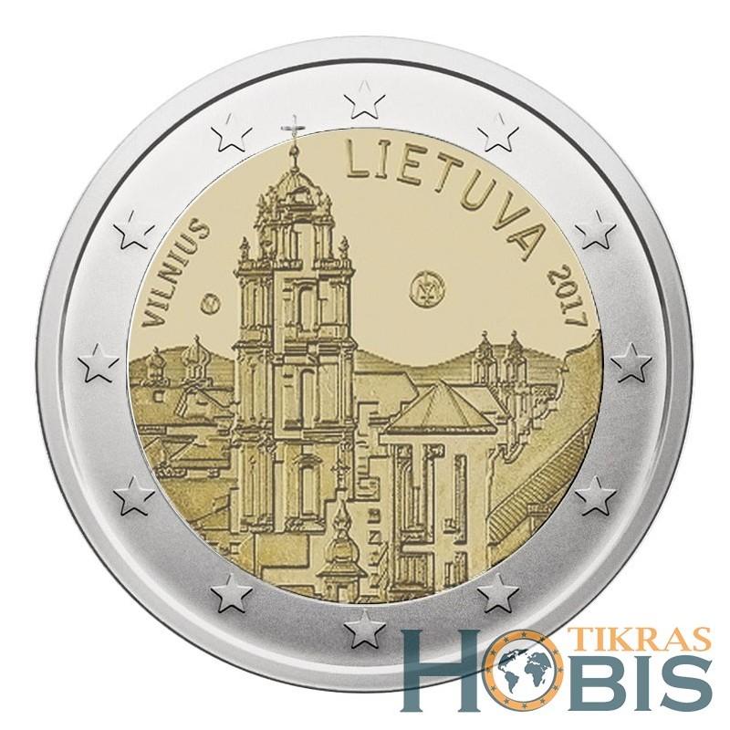 Lietuva 2 eurai, 2017 Vilnius